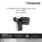 5.0 Megapixel HD Digital Camcorder DVG