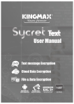 Sycret Text - User Manual (V1.1)