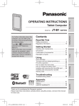 Panasonic Toughbook JT-B1 Manual