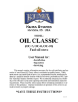 Click to see the Kuma Oil Classic Owners Manual