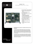 MVME172P2 VME Embedded Controller with 2 IP Slots data sheet