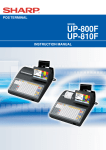 UP-800F/810F Operation-Manual GB