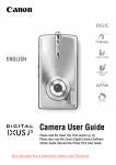 Canon Digital IXUS i5 User`s Manual