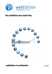 webEdition User Guide PLUS - webEdition Archive