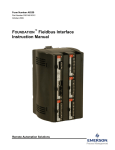 Foundation Fieldbus Interface Instruction Manual
