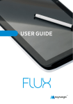Tablet FLUX – User Guide
