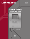 ICON26 SERIES - All Gate Operator Manuals