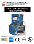 DP-340 Manual - Diesel Parts of America