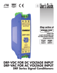 DRF Series Signal Conditioners