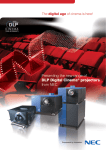 Presenting the new range of DLP Digital Cinema® projectors from