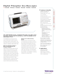 Tektronix: Products > Digital Phosphor Oscilloscopes