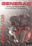 Service And Repair Manual For Small Frame GN