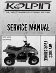 KOLPIN 90ATV Service Manual.