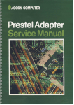 Acorn Prestel Adapter Service Manual