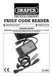 FAULT CODE READER - Tooled