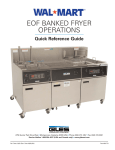 eof banked fryer operations