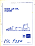 I. Non-Resume Type Cruise Control - 73