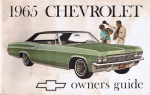 1965 CHEVROLET - Free Shop Manual