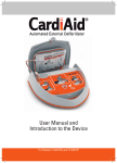 User Manual for the CardiAid AED