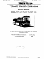 towing services for ttc buses & non