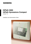 HiPath Xpressions Compact - Voice Communications Australia