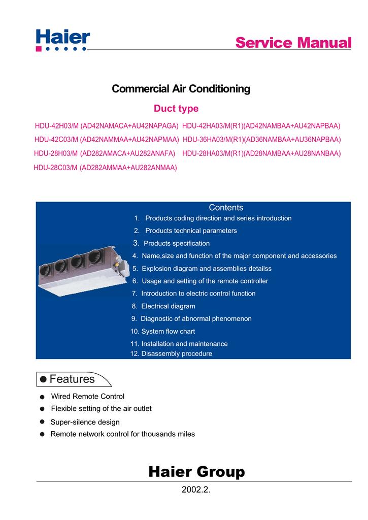 Hdu 42ha03 Mr1 Ht6 A C Compressor Wiring Diagram