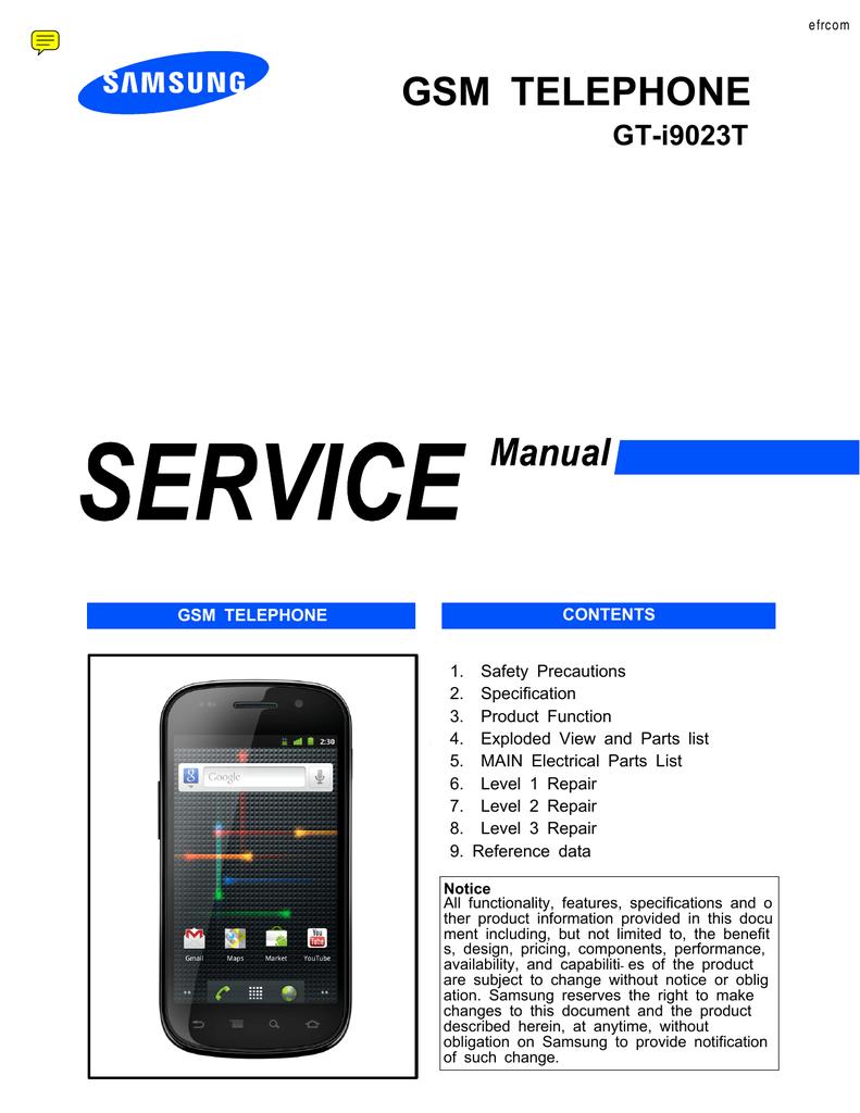 manuale sgh 830