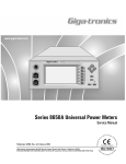 Series 8650A Universal Power Meters - Giga