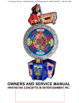 Treasure Quest Service Manual