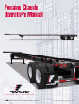 View Operator`s Manual - Fontaine Chassis Trailers