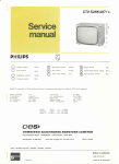 K70 Service Manual - Old Philips Colour TV