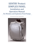 SENTRY Protect SIMPLEX PANEL - Environment One Corporation