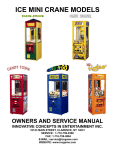 Snack Attack Service Manual - 11-11-02.pub