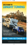 2012 Dinghy Towing Guide - Roy Robinson Motorhomes