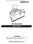 Pac Man Smash Service Manual