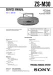 SERVICE MANUAL - MiniDisc Community Page