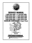 5BCG - 7BCGD Service Manual