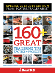 160 + Great Trailering Tips, Tactics and Projects