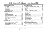 2009 Chevrolet TrailBlazer Owner Manual - Dealer e