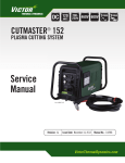 Service Manual - Victor Technologies