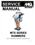 MTX Series Service Manual - Multiquip Service & Support Center