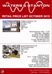 current price list - Jaycee Electronics Ltd