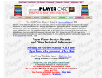 Our Manuals/Test Rolls PDF Catalog - Player