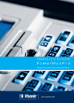 GUIA DO UTILIZADOR POWERMAXPRO D-302753