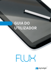 Tablet FLUX – Guia do Utilizador