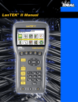 LanTEK® II Manual