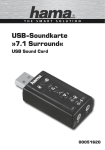 USB-Soundkarte »7.1 Surround«