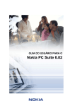 User`s Guide for Nokia PC Suite 6.82