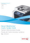 WorkCentre 5300 Series Multifunction Printer System