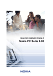 User`s Guide for Nokia PC Suite 6.8
